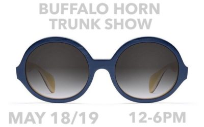 Morgenthal Frederics Buffalo Horn Trunk Show